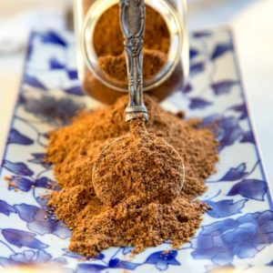 Toasted cumin and red Szechuan peppercorns work their magic in Xinjiang Spice Blend, a spice blend that is fantastic on grilled or BBQ lamb and other meats. keviniscooking.com