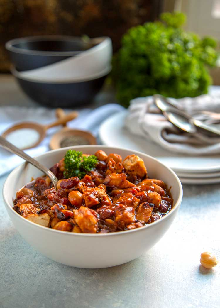 BBQ Chicken Chili