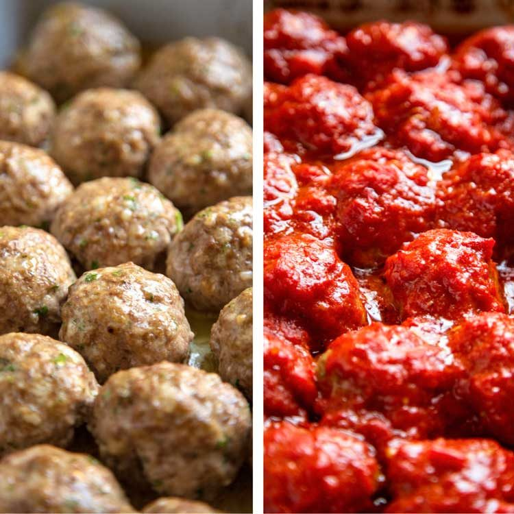 How to Make Italian Classic Beef Meatballs - Kevin Is Cooking