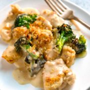 My Scratch Made Chicken Divan is not your mother's Chicken Divan. Nope, this is an updated, slimmed down version that still packs in the flavor. No canned soups, sour cream and half the butter of others. Dinner's ready in 30 minutes! keviniscooking.com