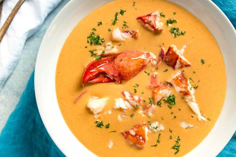 Creamy Lobster Bisque Recipe