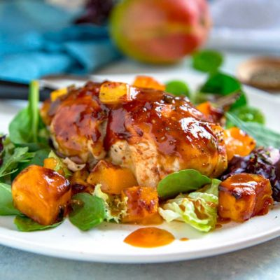 Barbecue Mango Chicken