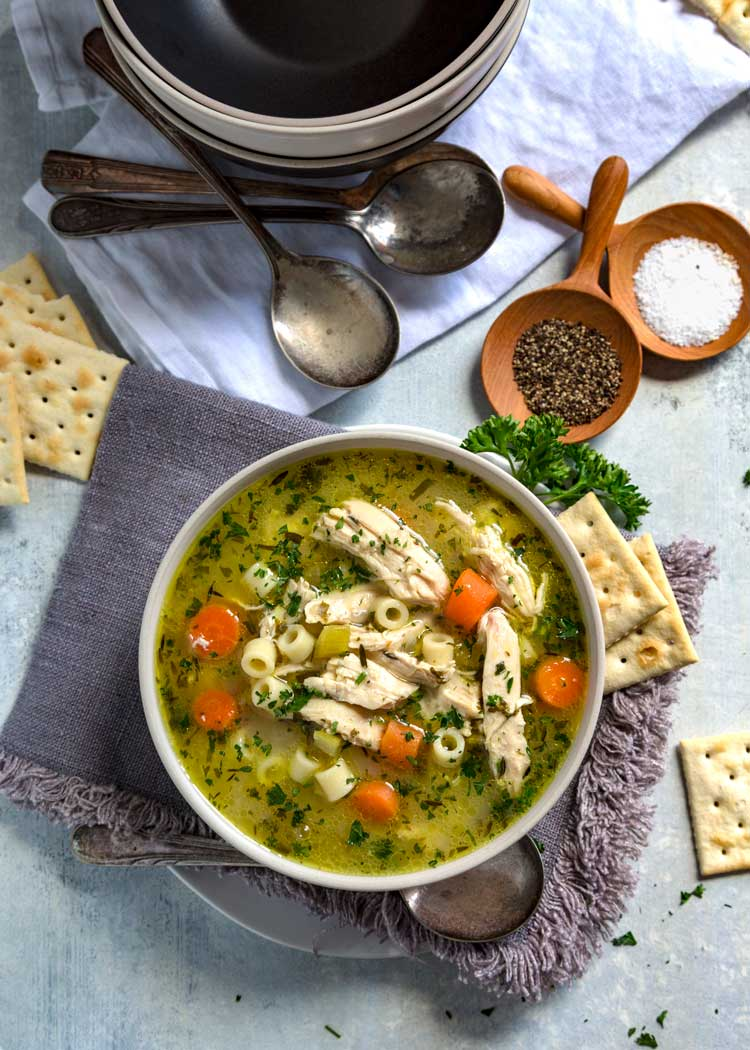 Easy Instant Pot Chicken Noodle Soup