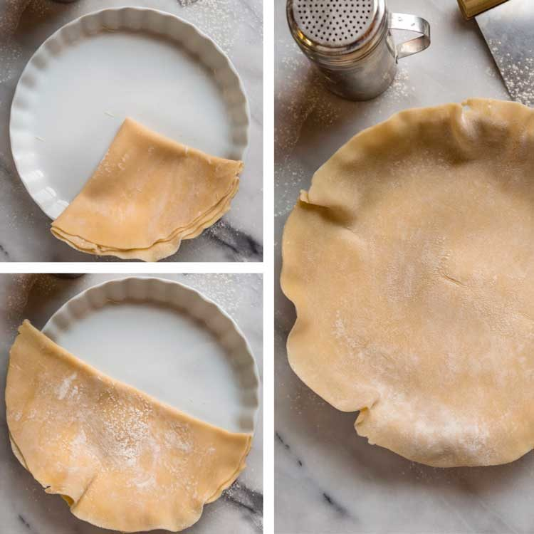 How to Make Quiche Lorraine pastry dough
