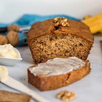 Brown Butter Walnut Banana Bread
