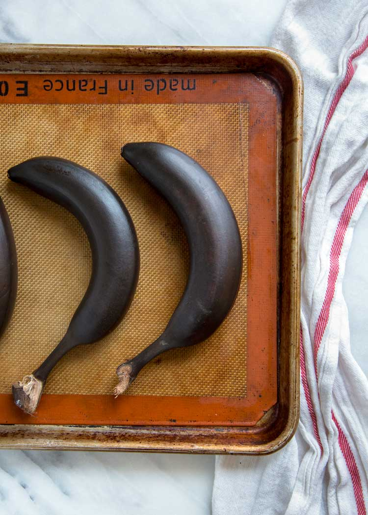 How to ripen bananas in oven
