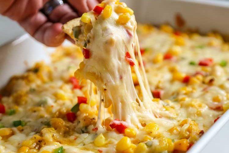 Tex Mex Hot Corn Dip