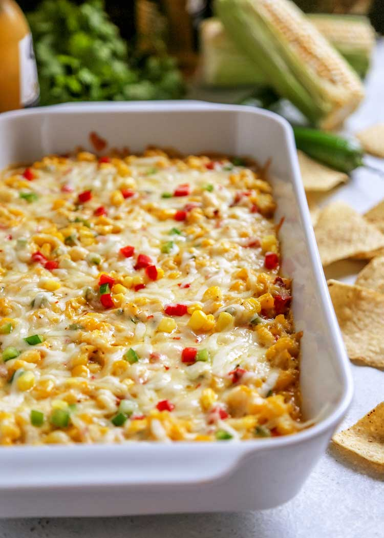 Tex Mex Hot Corn Dip