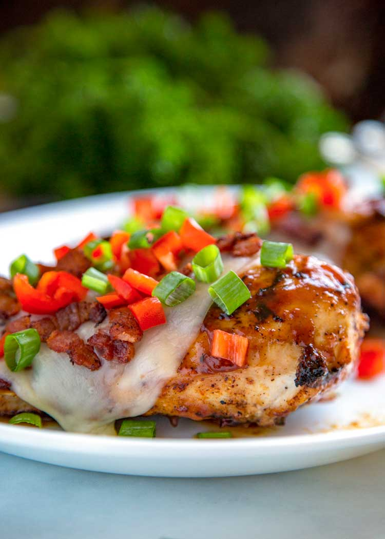 Grilled Monterey Chicken