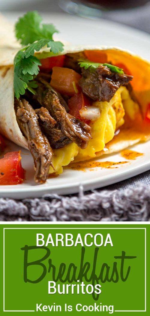 Barbacoa Breakfast Burrito