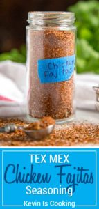 My Chicken Fajitas Seasoning is an essential pantry staple for beautifully seasoned, authentic Chicken Fajitas. I like to make it in small batches to remain fresh, using pantry staples like chili powder, cumin and other warm spices to pack that flavor punch.