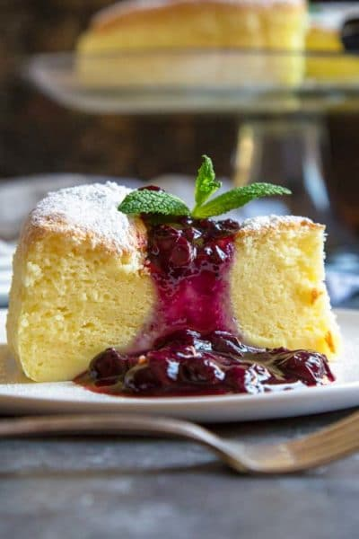Fluffy Japanese Cheesecake