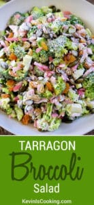 Tarragon Broccoli Salad