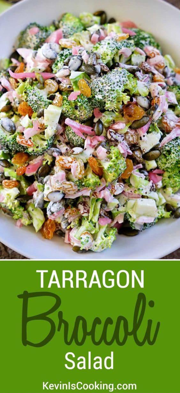 Tarragon Broccoli Salad