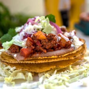 Ground Beef Tostadas