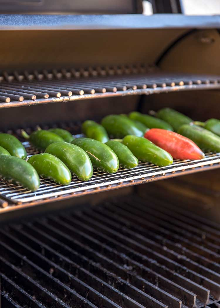 jalapenos in the smoker - How to Make Dried Chipotle Chiles