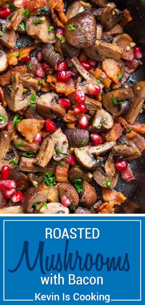 Roasted Mushrooms with Bacon