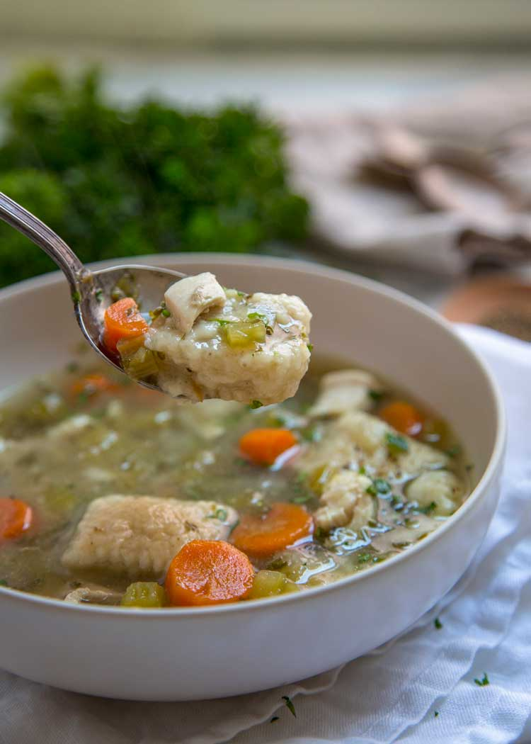 Southern Chicken and Dumplings