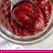 Sweet and Spicy Cranberry Butter