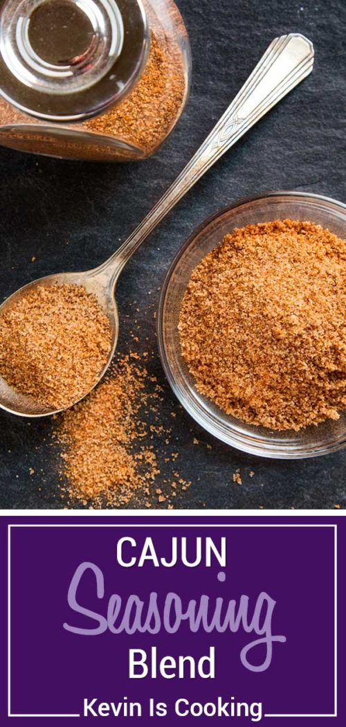 This Homemade Cajun Seasoning Blend is made with most items already in your spice cabinet. Without the loaded salt that comes with pre-packaged spice blends, this homemade version is perfect on Southern dishes needing a little authentic flavor.
