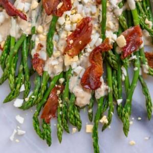 Asparagus with Tarragon Sauce