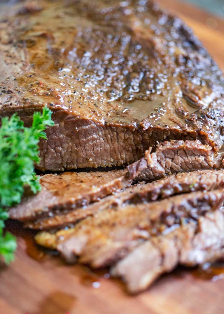 sliced Braised Beef Brisket