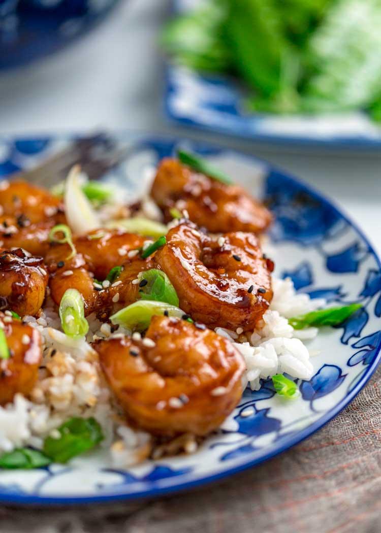 Easy Honey Garlic Shrimp