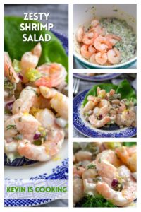 photos of shrimp salad
