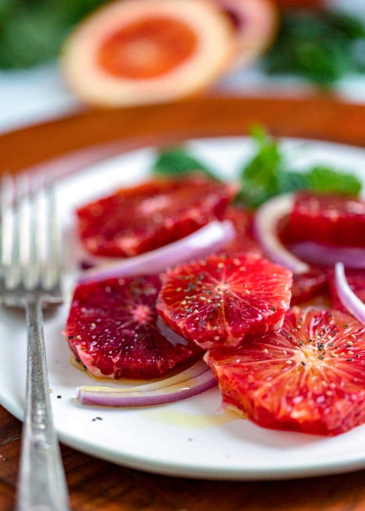 Blood Orange Salad