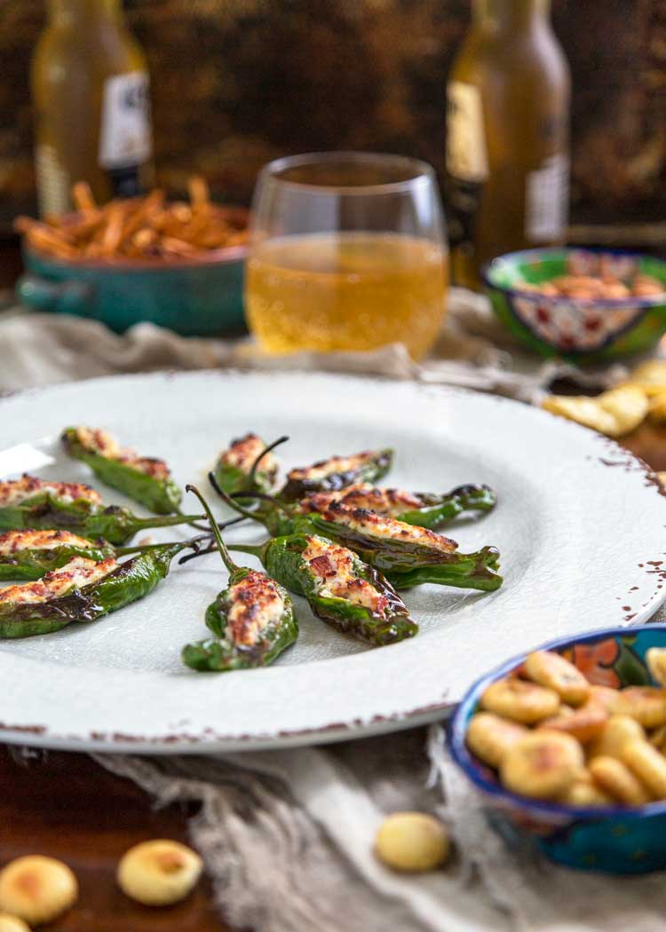 Stuffed Shishito Peppers