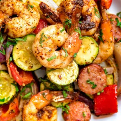 Cajun Shrimp and Sausage