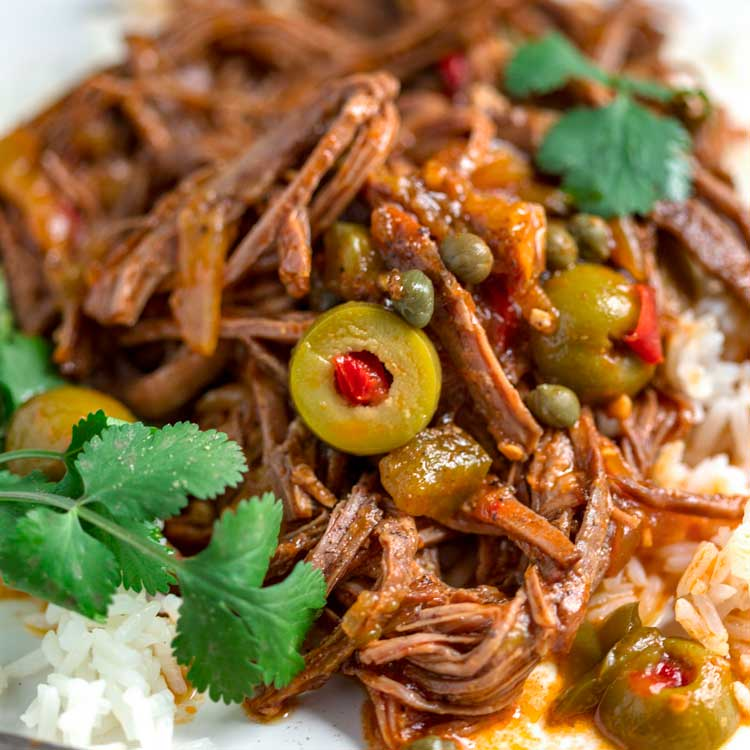 Cuban Ropa Vieja Recipe (Without Slow Cooker) - Kevin Is