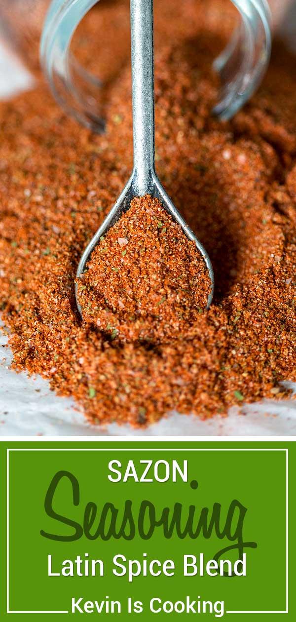 Sazon Seasoning - Latin Spice Blend