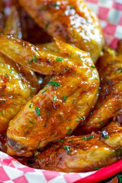 Smoked Honey Garlic Chicken Wings