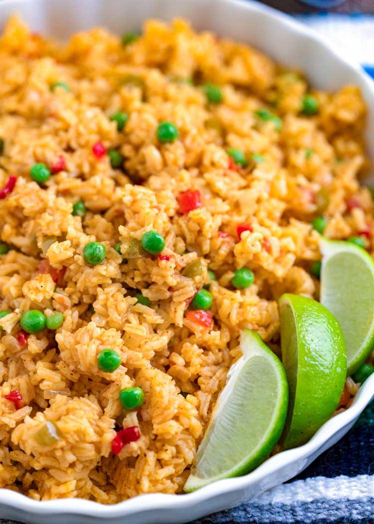 bowl of Yellow Rice (Arroz Amarillo)