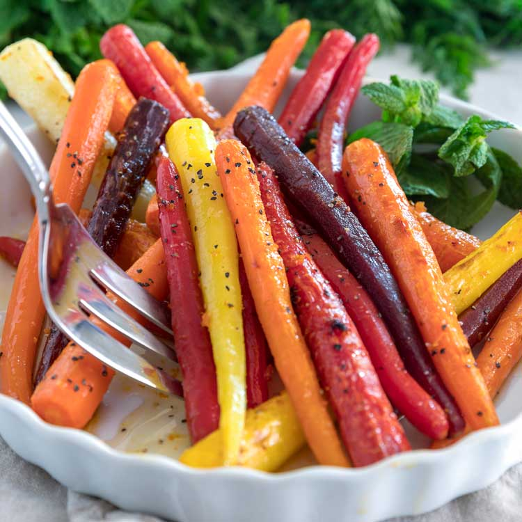 Citrus Honey Roasted Carrots