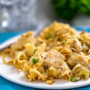 plate of Tuna Noodle Casserole