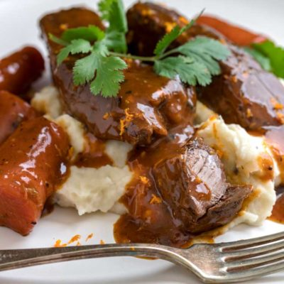 Orange Braised Beef Short Ribs