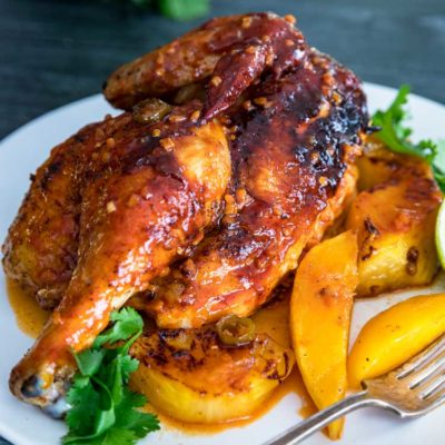Tropical Roasted Chicken