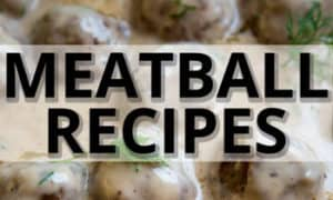 meatball recipe collection ad