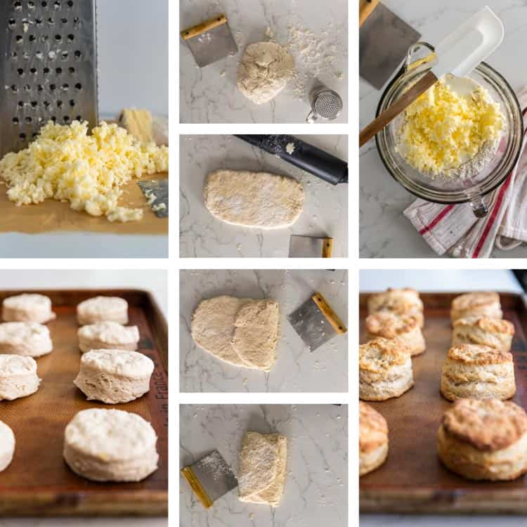 prep photos how to make Southern Buttermilk Biscuits
