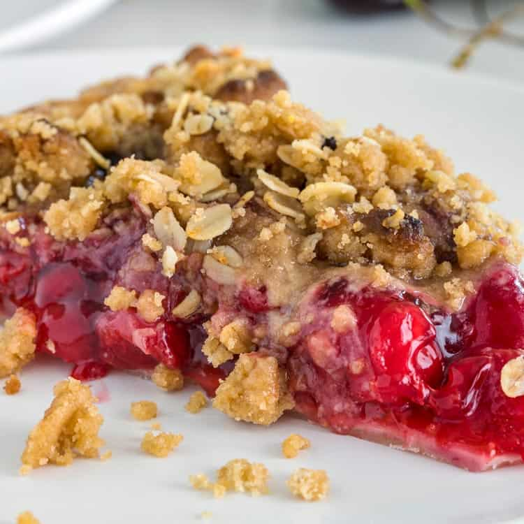 Almond Crumble Cherry Pie Recipe - Pillsbury.com |Cherry Pie With Crumb Topping