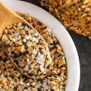 close up of Everything Bagel Seasoning