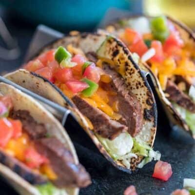 Flank Steak Tacos