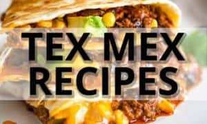 tex mex recipe collection ad