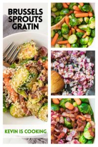 Brussels Sprouts Gratin step by step