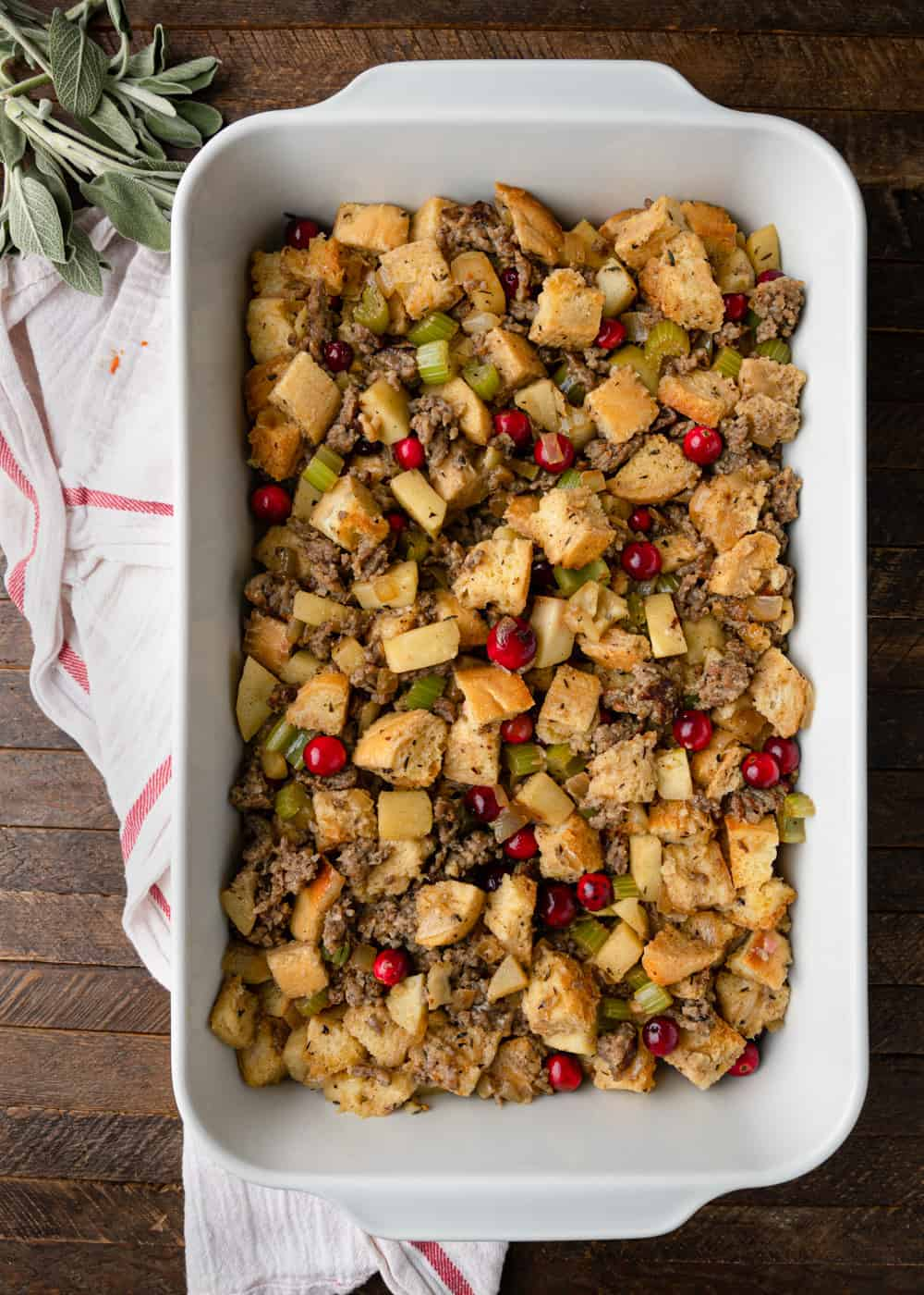 pre baked stuffing