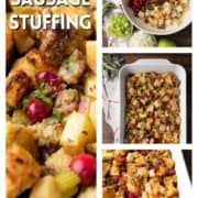 step by step photos of Apple Sausage Stuffing