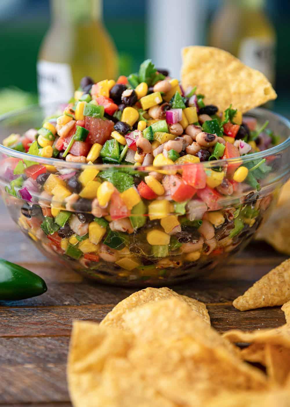 bowl of Cowboy Caviar