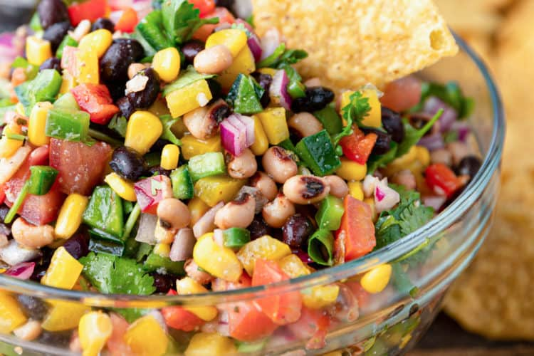 close up of Cowboy Caviar